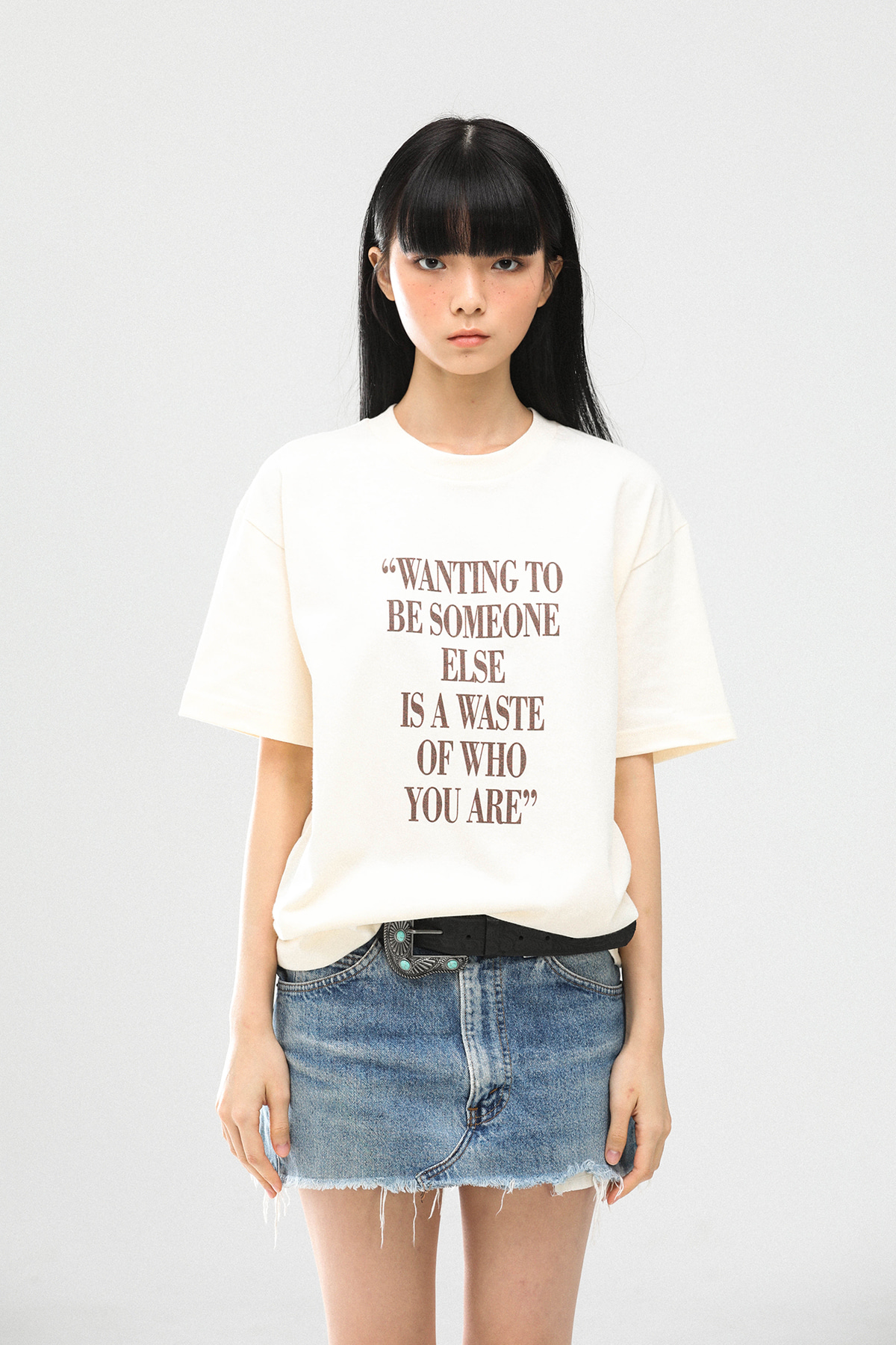WEAR I AM You are T-Shirts (Cream)
