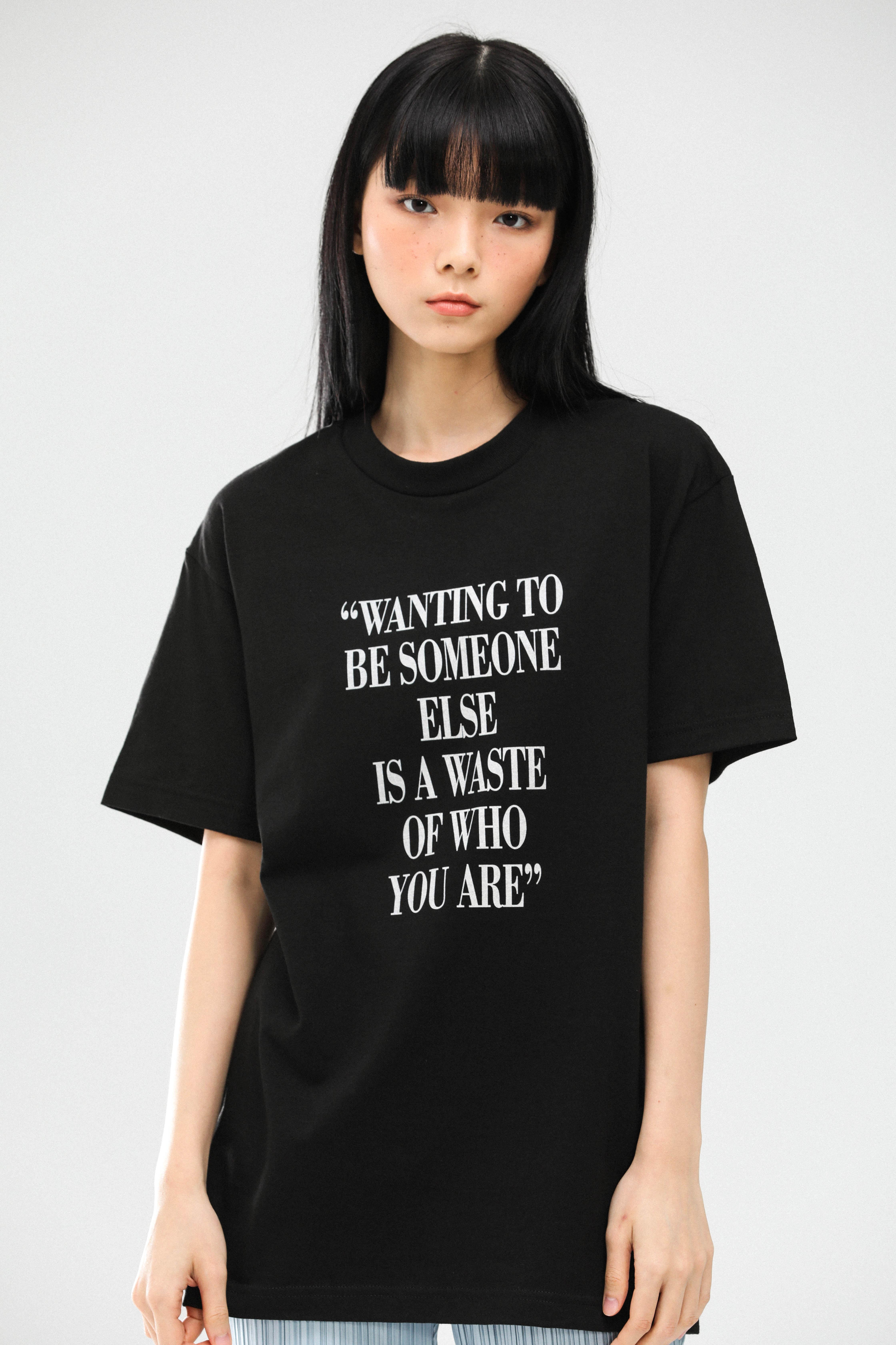 WEAR I AM You are T-Shirts (Black)