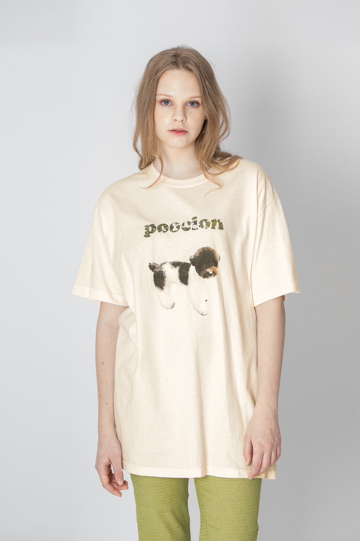 POOCION Twin T-shirt (Ivory)
