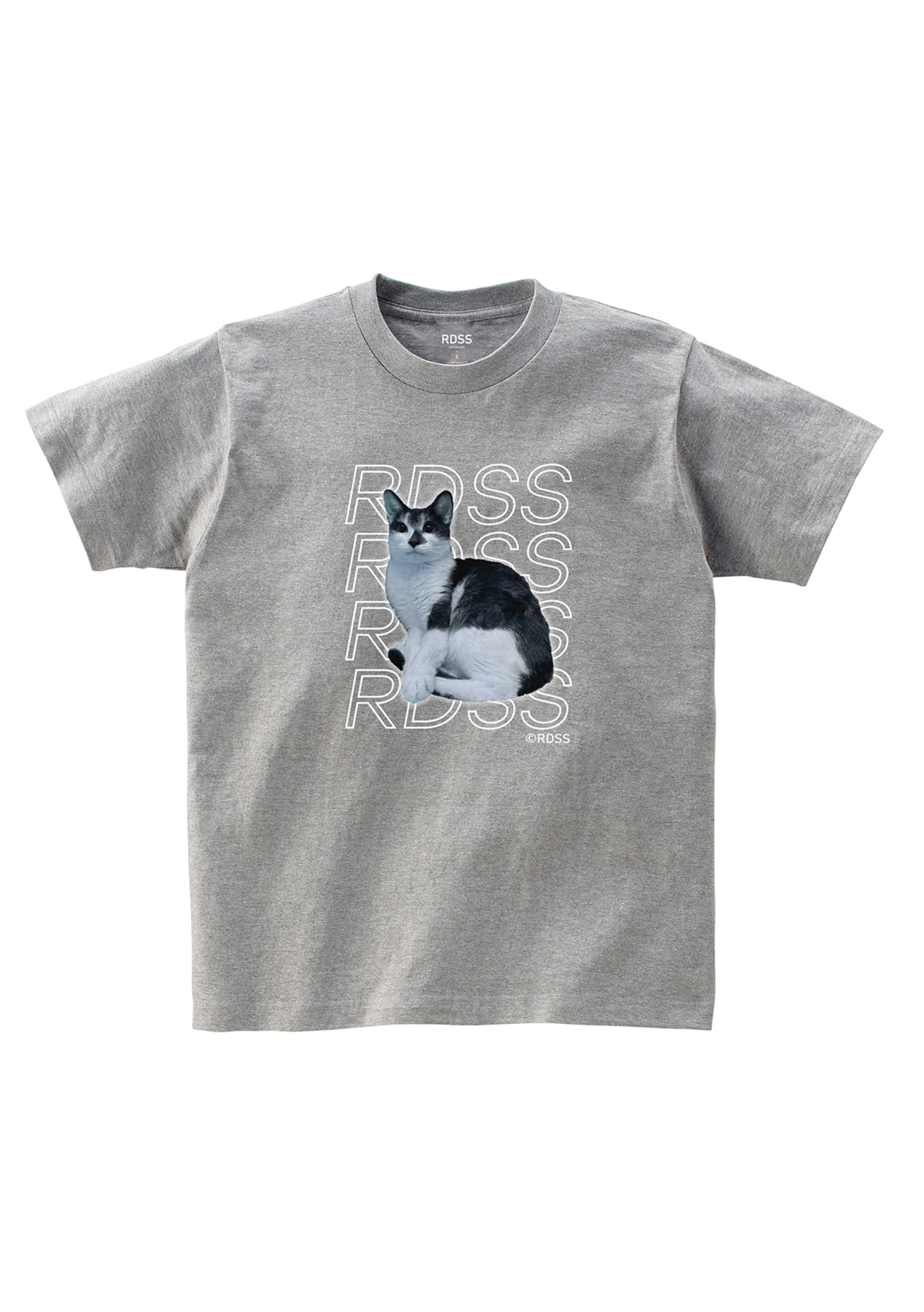 RDSS Long Cat T-Shirt (Gray)