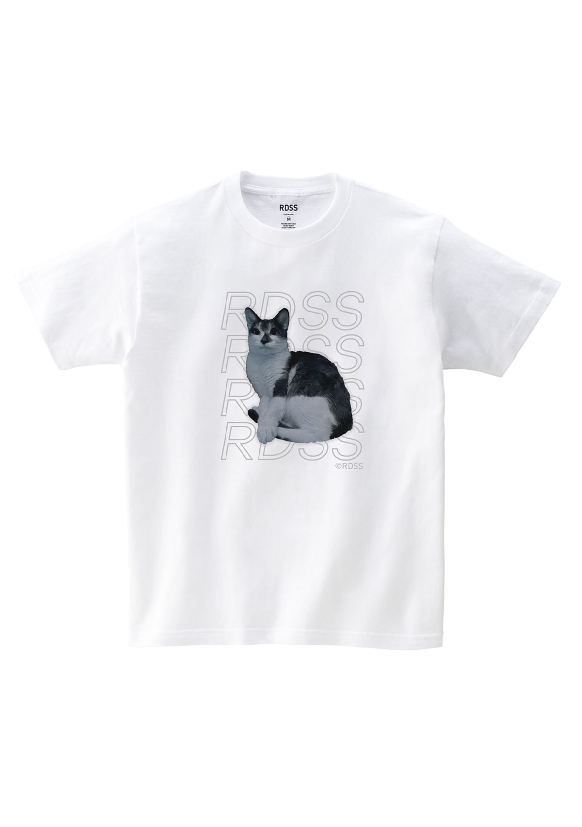 RDSS Long Cat T-Shirt (White)