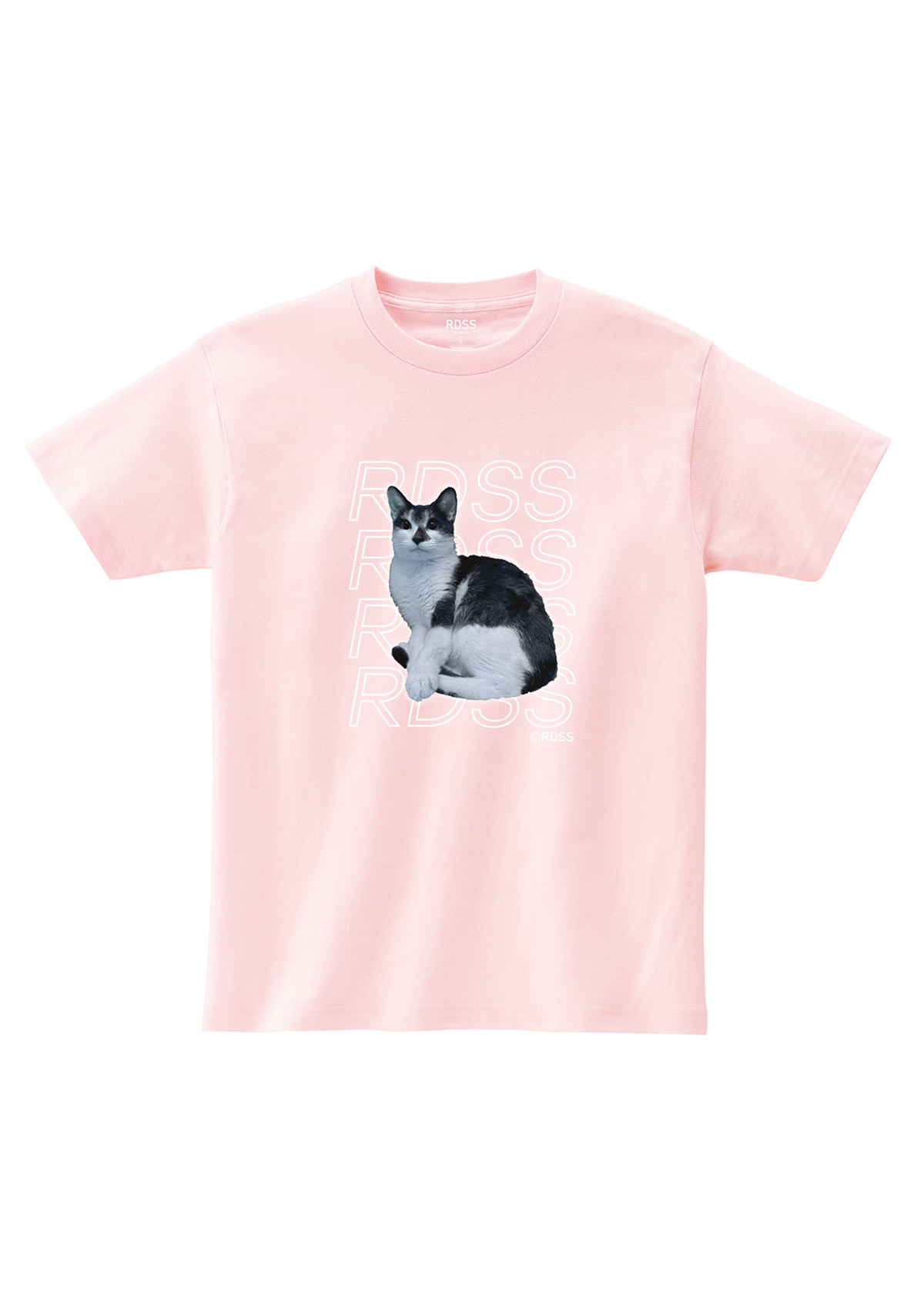 RDSS Long Cat T-Shirt (Pink)