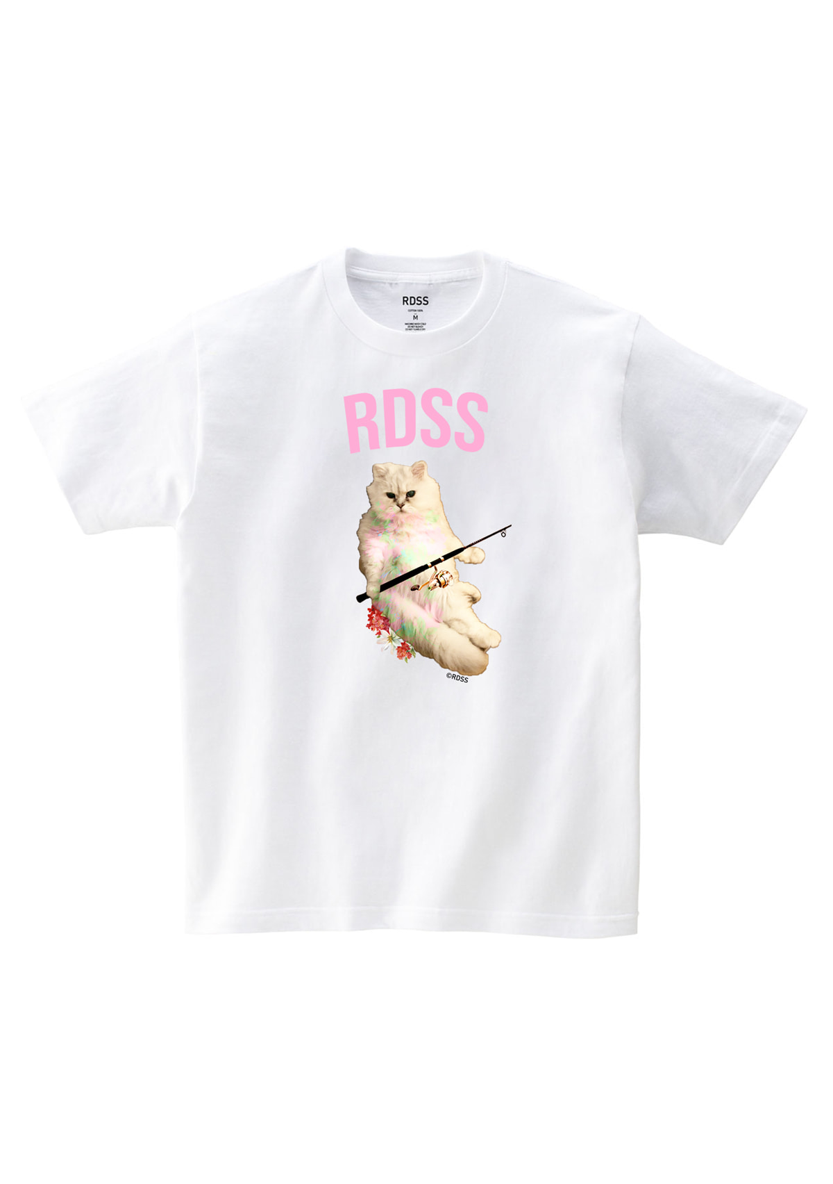 RDSS TOTO Cat T-Shirt (White)